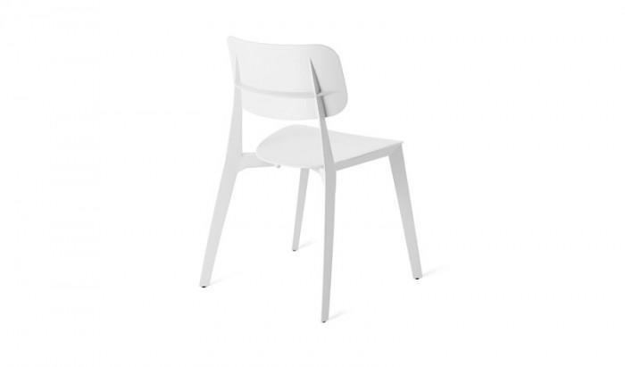 Witte Kunststof Design Stoelen.Huren Witte Design Stoel Van Kunststof Lounge Zo