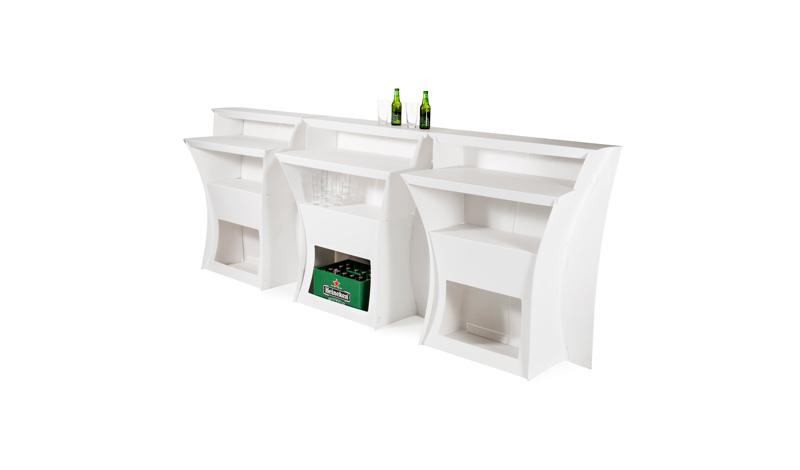 Huren witte design balie flux arc lounge zo - Witte design lounge ...