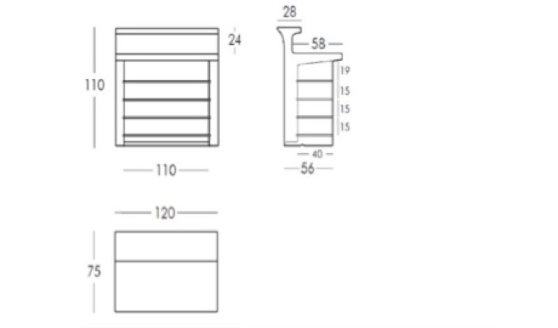 Led verlichte bar slide design break line lounge zo - Werkblad eindigen ...