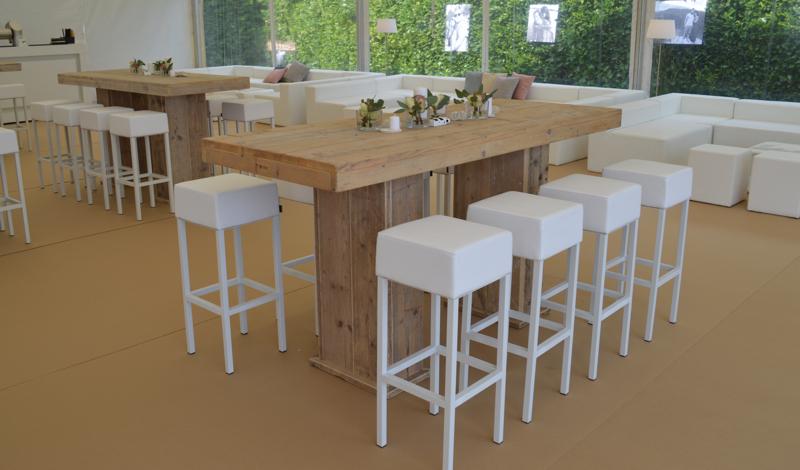 Huren pedrali cube witte design barkruk lounge zo for Meubels horeca