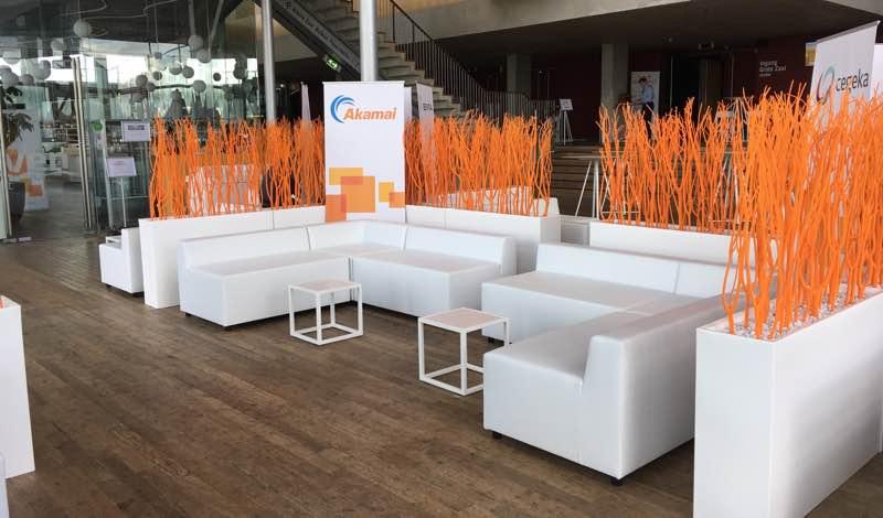 Witte design loungeset huren 10 personen lounge zo - Witte design lounge ...