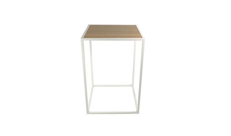 Statafels huren - Witte design lounge ...