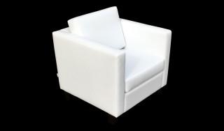 Witte Design Fauteuil Huren: Sillon