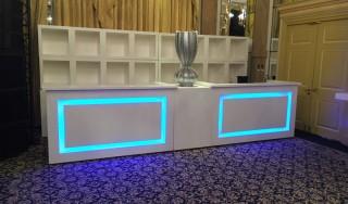 Bar Huren Design Rond of Recht met LED Verlichting