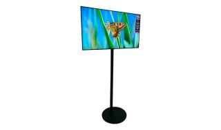 Flatscreen TV Hoog Statief Huren: 55 Inch
