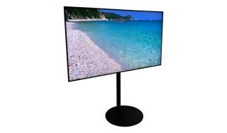 Flatscreen TV Laag Statief Huren: 65 Inch