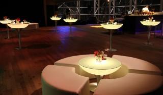 Ronde Loungeset huren: Arco Circular